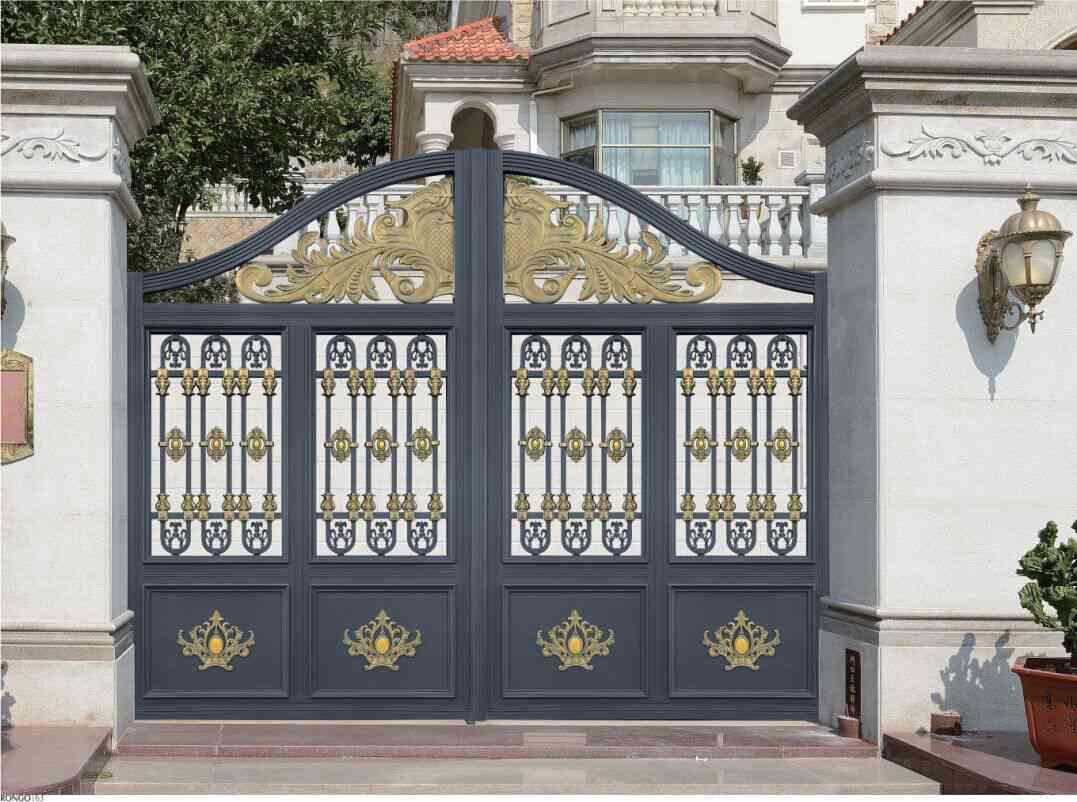 豪华型铝艺庭院门RG002