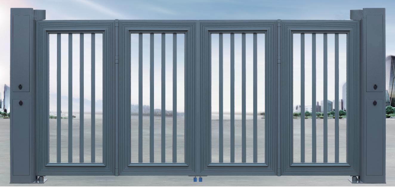 深圳xuan浮折叠门ru何安装